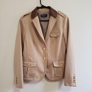 BNWOT Jones New York tailored military blazer